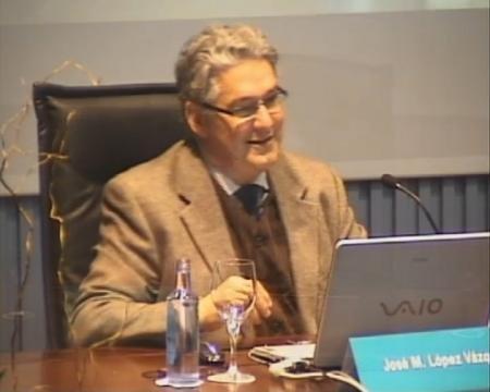 José M. López Vázquez, departamento de Historia da Arte da Universidade de Santiago de Compostela